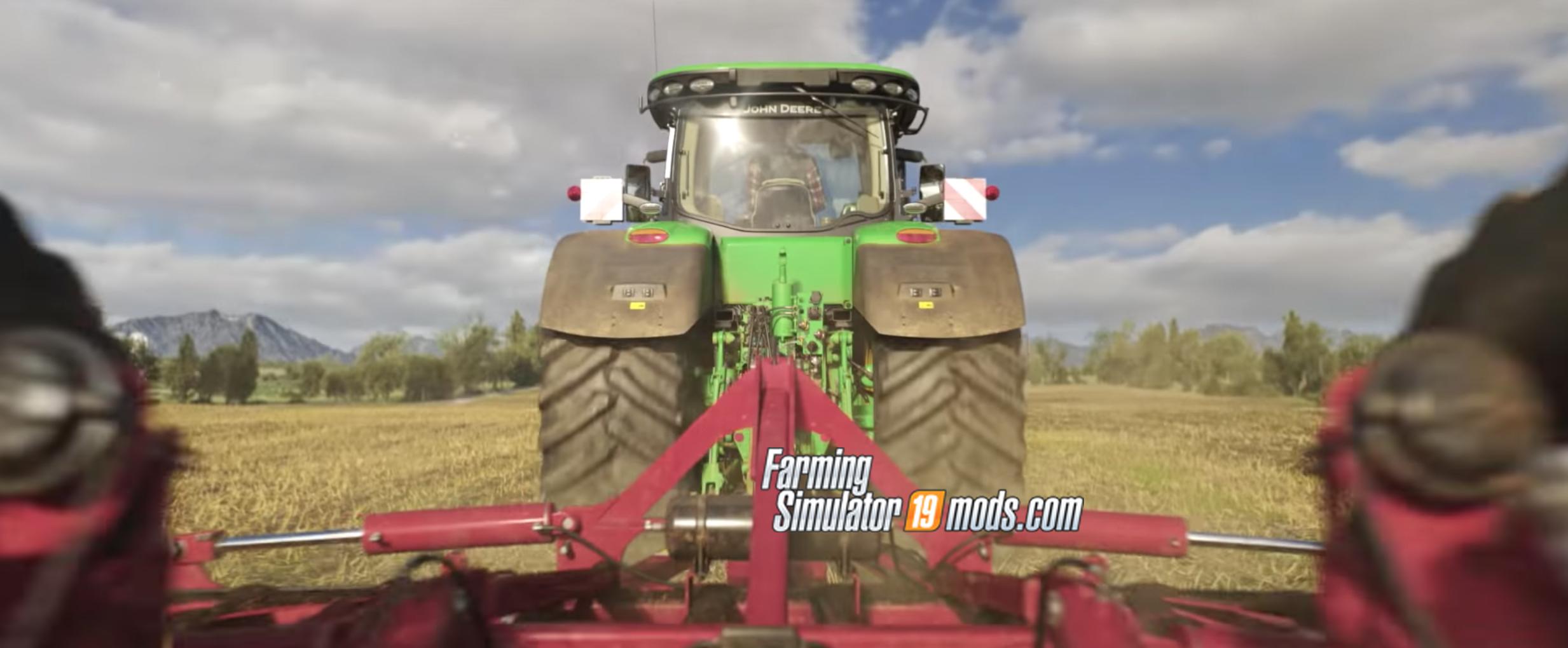 Detailed 19 Screenshots of Jong Deere Tractor in Farming