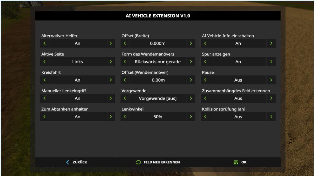 FS19 AI Vehicle Extension - Farming Simulator 19 mod, LS19