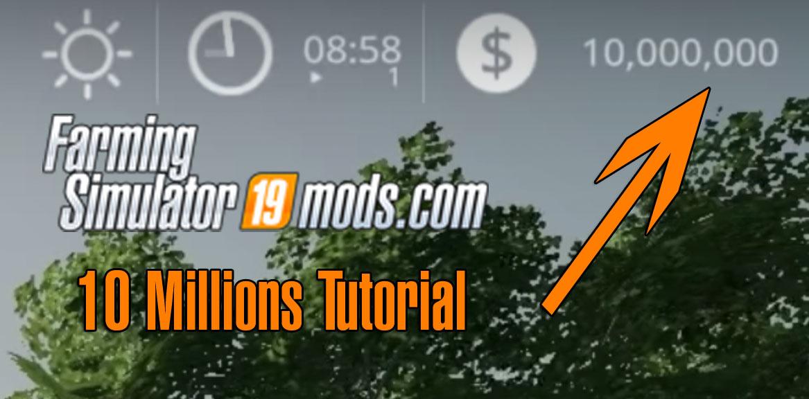 Farming Simulator 19 Money Cheat For Pc Farming Simulator 19 Mod
