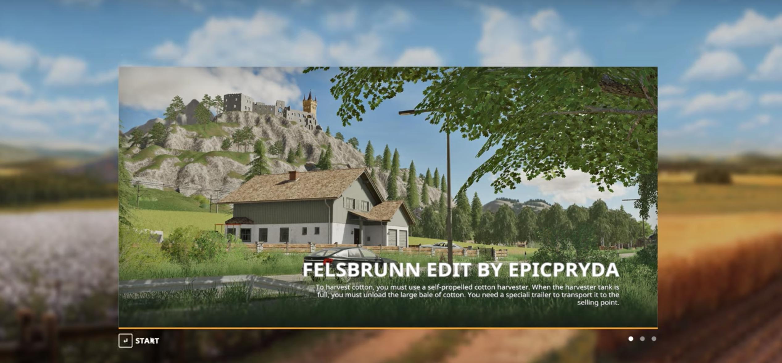 FS19 Felsbrunn Map Edit - Farming Simulator 19 mod, LS19 Mod