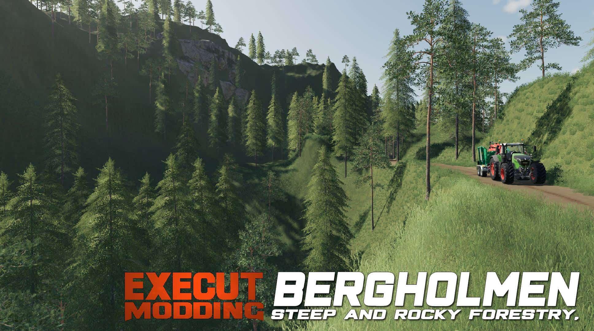 Mod Bergholmen Hardcore Forestry Map V1 0 - Farming