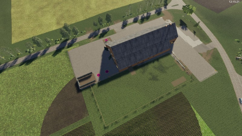 Mod Yard with cowshed and willow beta V 2 0 - Farming