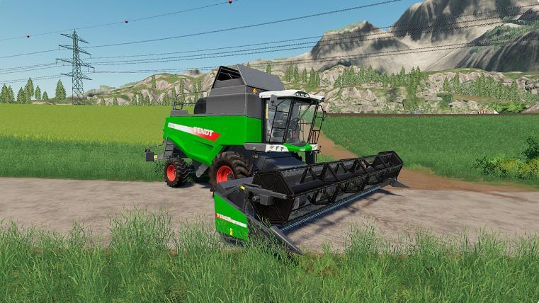 Combine Fendt 6275 L v1 0 - Farming Simulator 19 mod, LS19