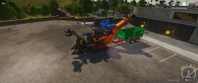 FS 19 Austoft A8800 Multi-Row v2 1 - Farming Simulator 19 mod, LS19