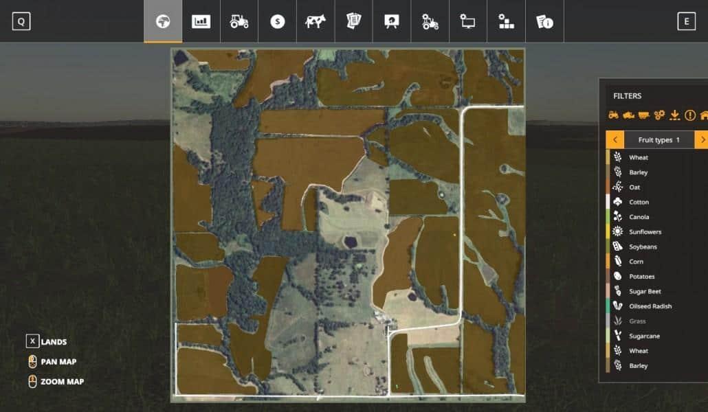 Farming Simulator 19 American Map