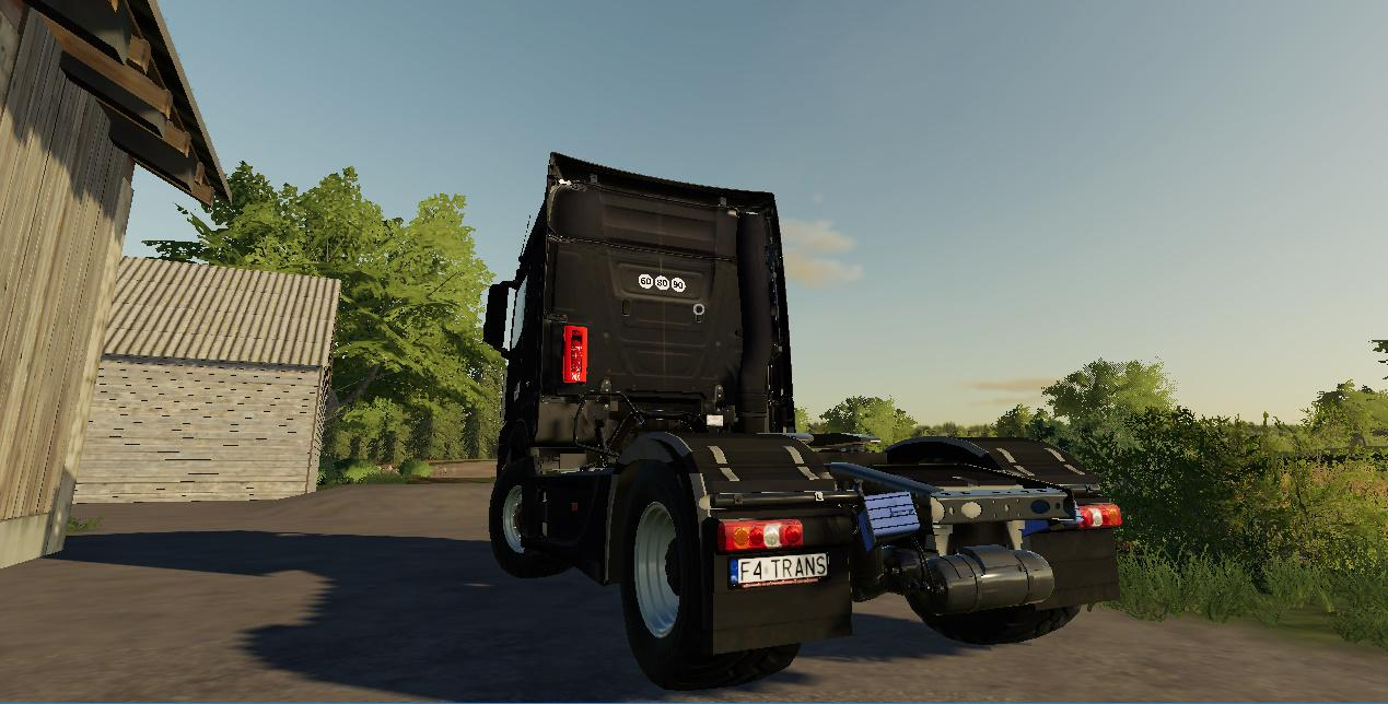 LS19 Mercedes Actros MP4 Truck v1.0 - Farming Simulator 19 ...