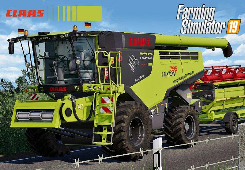 Gemeinsame LS2019 Claas Lexion 795 Monster Limited Edition v1.0 - Farming &FL_78