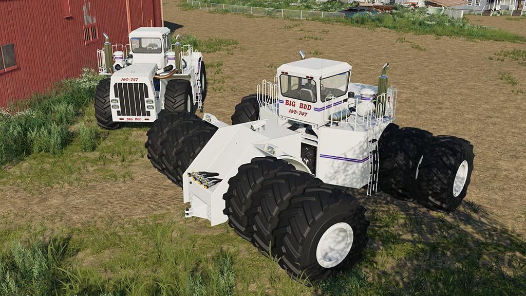 Big Bud 747 >> Tractor Big Bud 747 V1 0 1 0 Farming Simulator 19 Mod