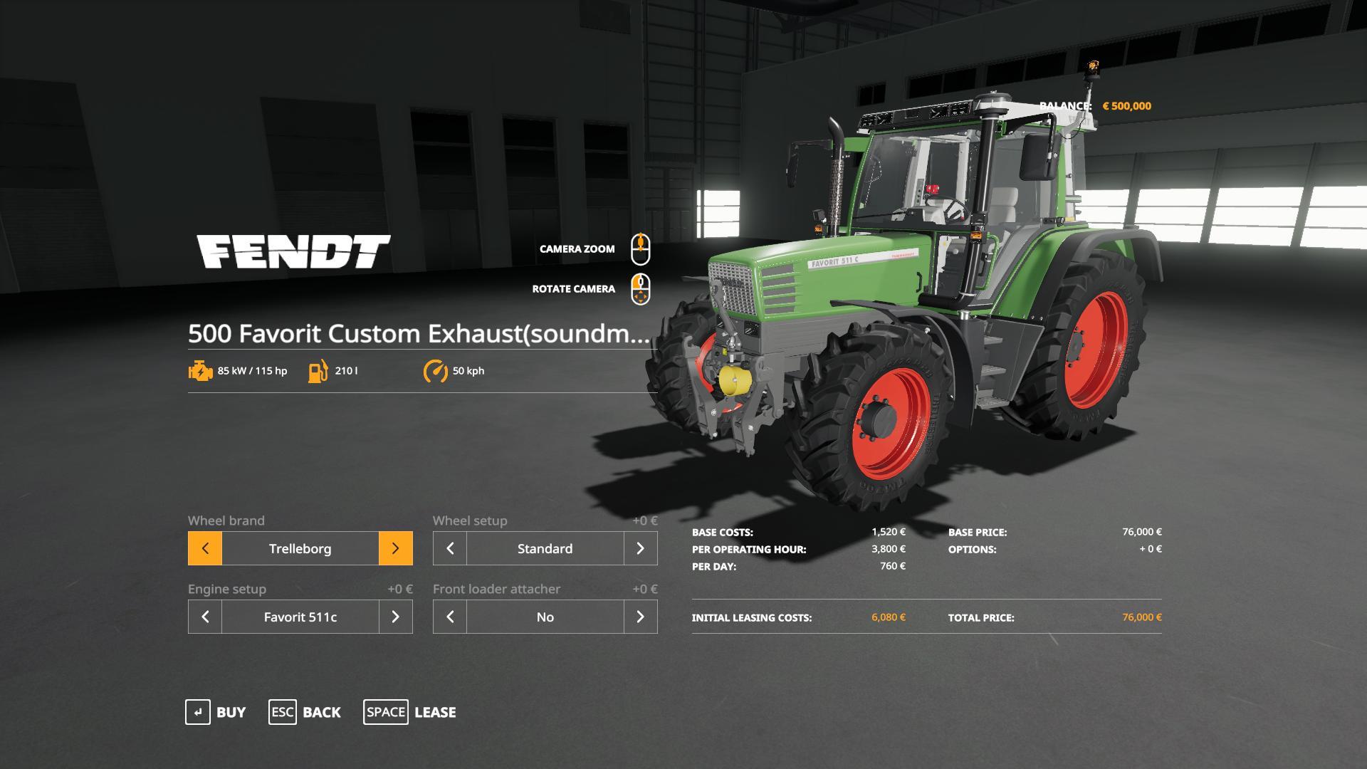 Tractor Fendt Favorit Custom Exhaust Sound V0 9 Farming Simulator 19 Mod Ls19 Mod Download