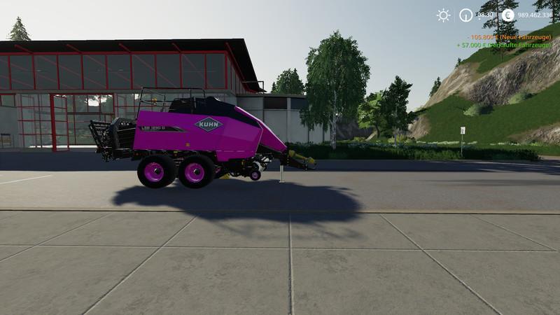 FS 19 Kuhn Bale Pack Snu Edition v1 0 - Farming Simulator 19 mod