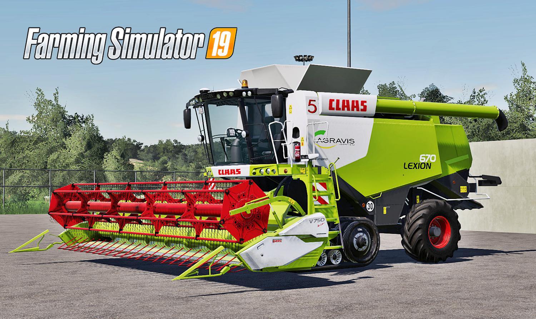 FS 19 Claas Lexion 670 Pack v1 0 0 0 - Farming Simulator 19