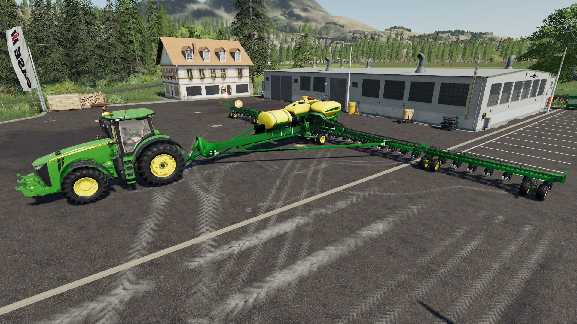 FS 19 John Deere DB90 27M V1 2 - Farming Simulator 19 mod
