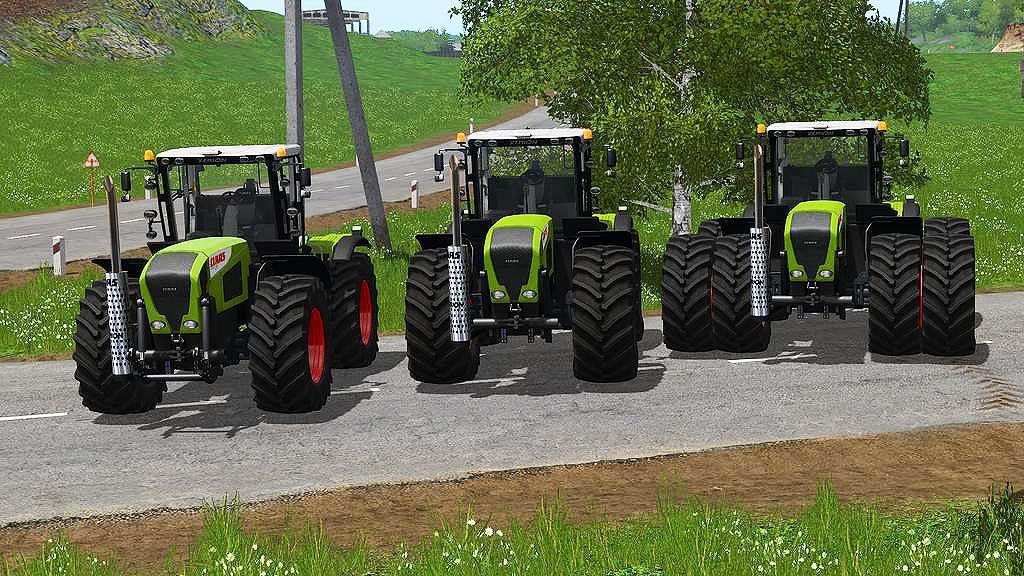 LS 19 Claas Xerion 3000 Series v1 1 - Farming Simulator 19 mod, LS19