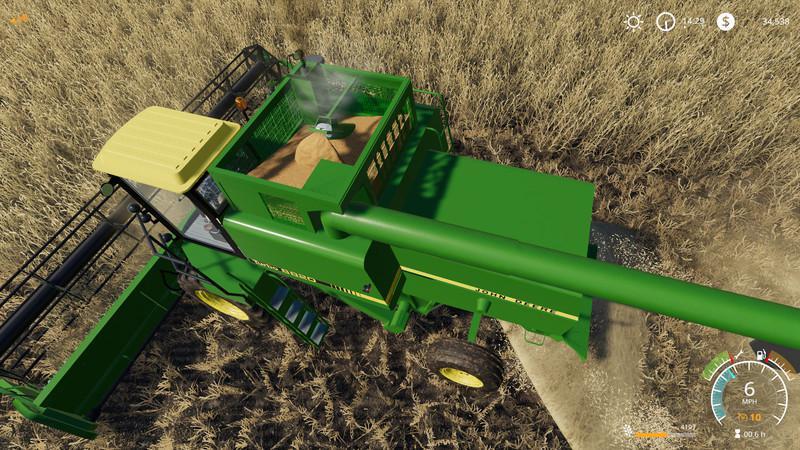 LS 19 John Deere 8820 Turbo v1 0 - Farming Simulator 19 mod
