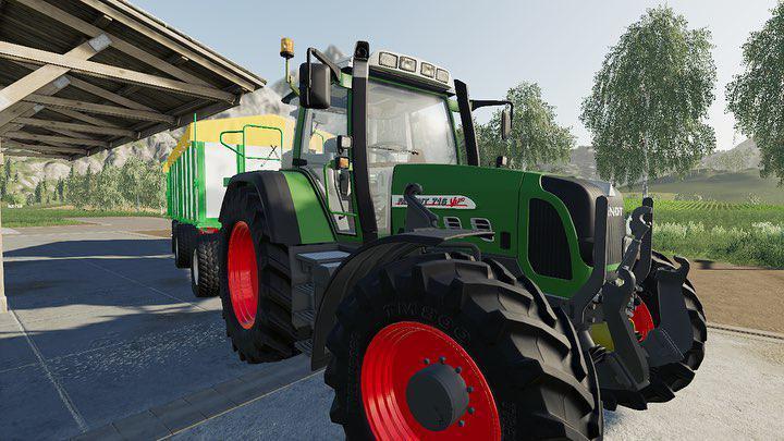 LS2019 Fendt Vario 800 TMS v3 0 - Farming Simulator 19 mod