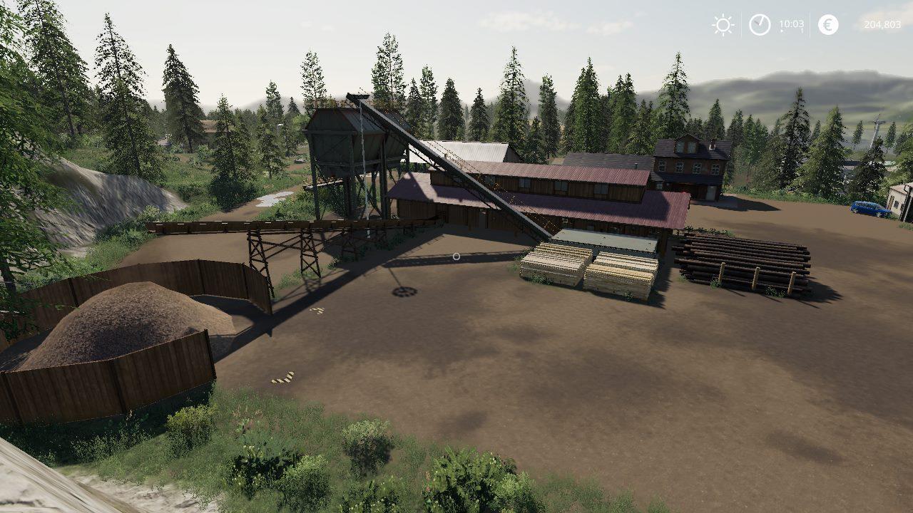 Mod Fenton Forest v1 0 - Farming Simulator 19 mod, LS19 Mod