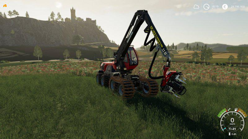 Mod Real Forestry Machinery v0 4 - Farming Simulator 19 mod, LS19