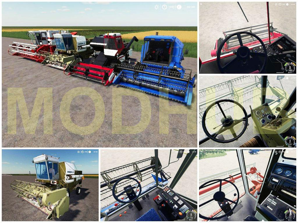 FS 19 Best Pack Combines v1 0 - Farming Simulator 19 mod