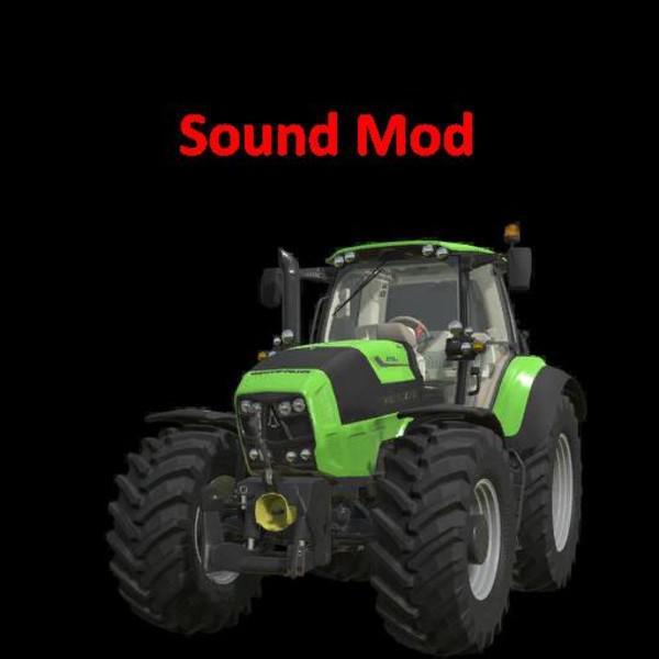 FS 19 Deutz Fahr Series 7 Sound Edit v1 0 - Farming Simulator 19 mod