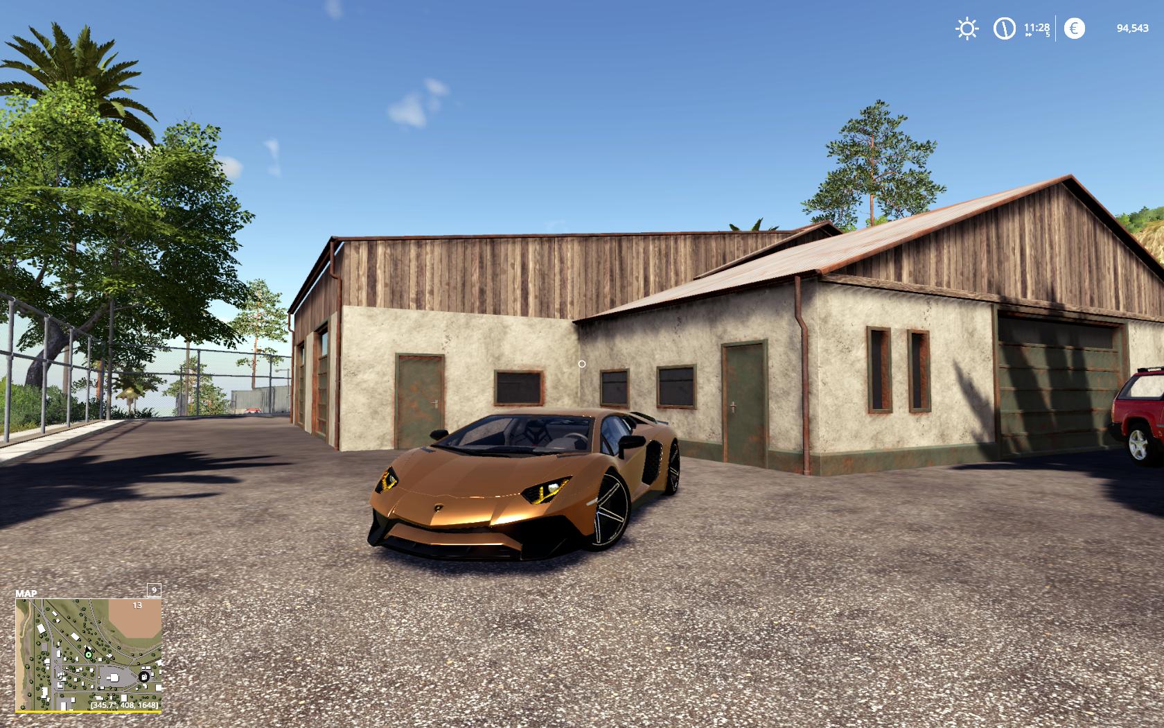 FS 19 Lamborghini Aventador LP750-4 SV V 1 0 - Farming