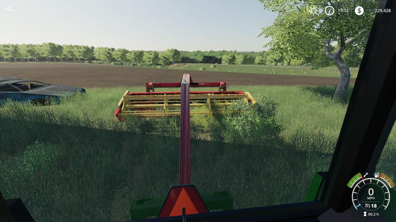 FS 19 New Holland 116 HAYBINE v1 0 0 0 - Farming Simulator