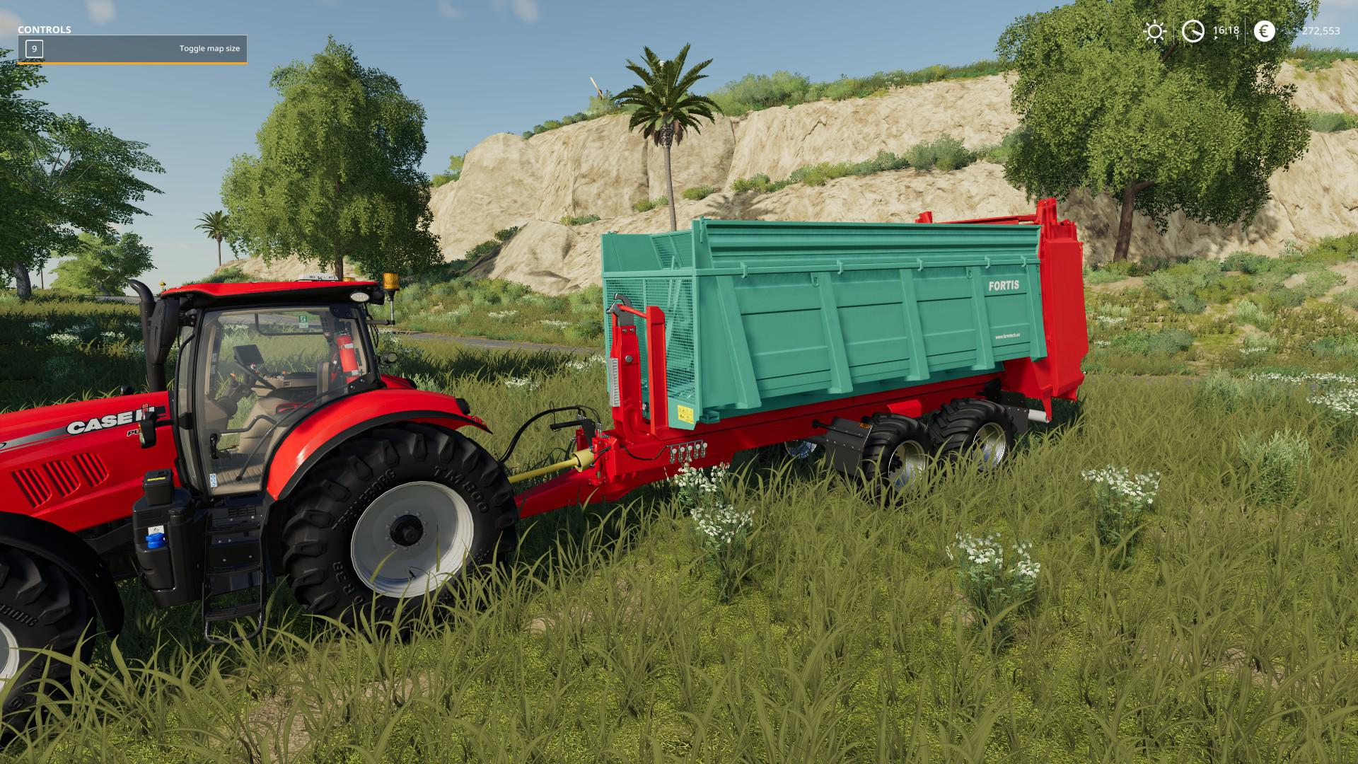 FS 19 Schuitemaker Hooklift Trailer v1 0 0 0 - Farming Simulator 19