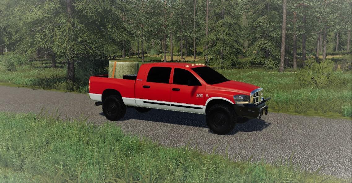 Ls 19 2007 Dodge 3500 Mega Cab V1 0 Farming Simulator 19 Mod Ls19 Mod Download