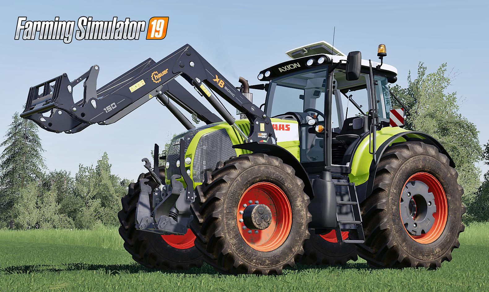 Ls2019 Claas Axion 800 Series First Generation V2 0