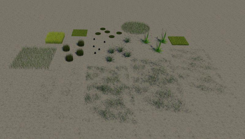Texture GrasExtrem v1 1 0 0 - Farming Simulator 19 mod, LS19