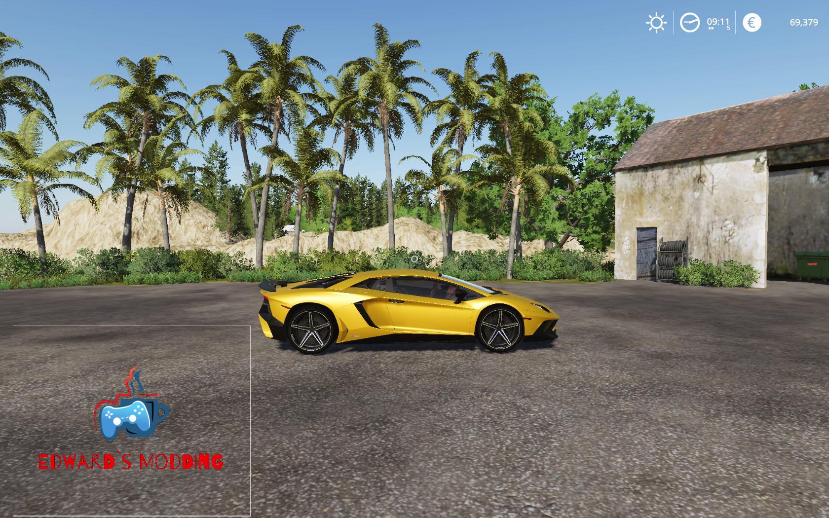 FS 19 Aventador LP750 v2.0 - Farming Simulator 19 mod ...