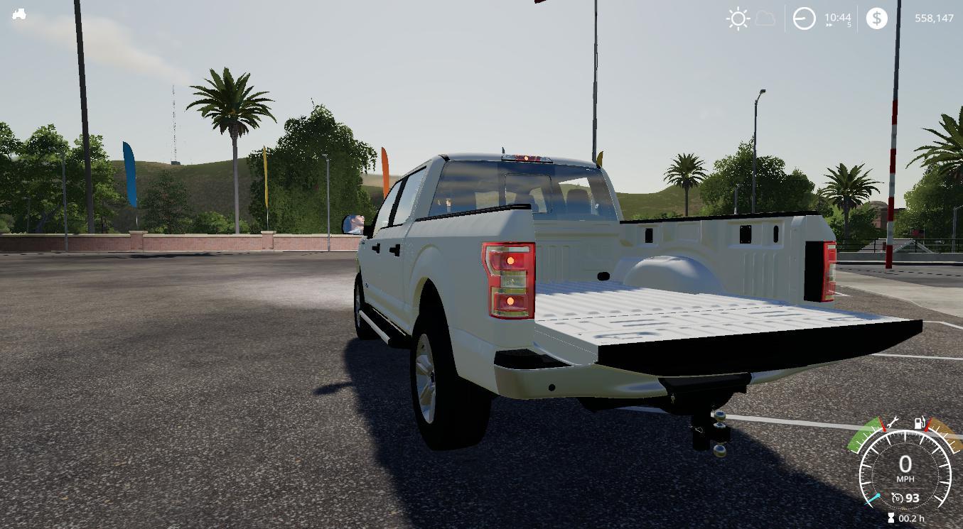 Car 2018 Ford F150 Stock 2 0 - Farming Simulator 19 mod