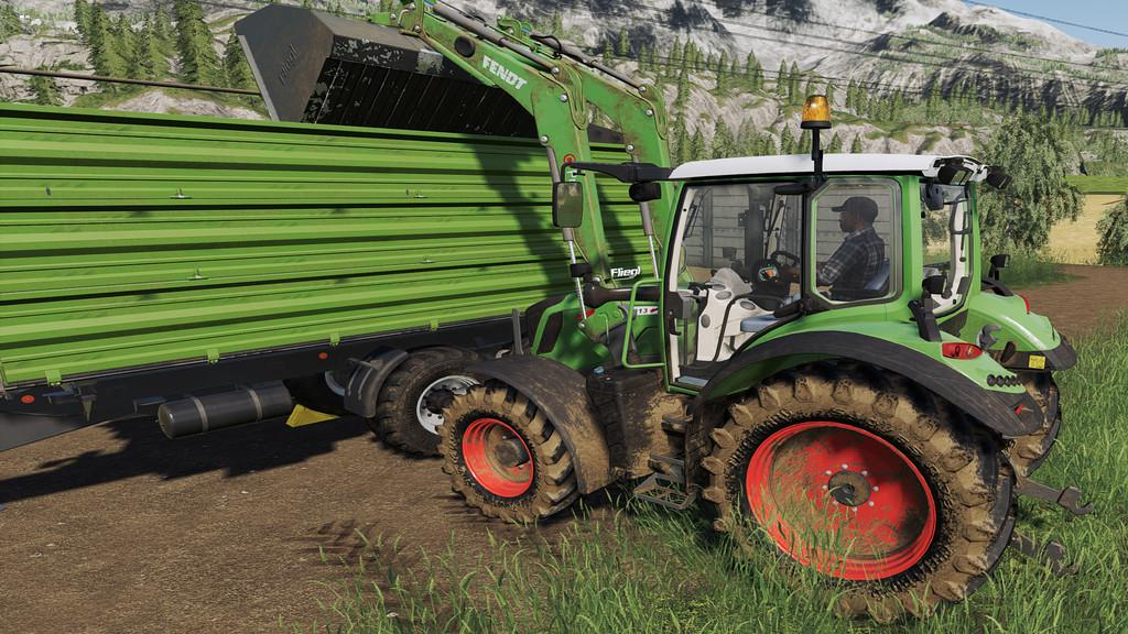 FS 19 Fliegl Large Capacity Shovels V1.0