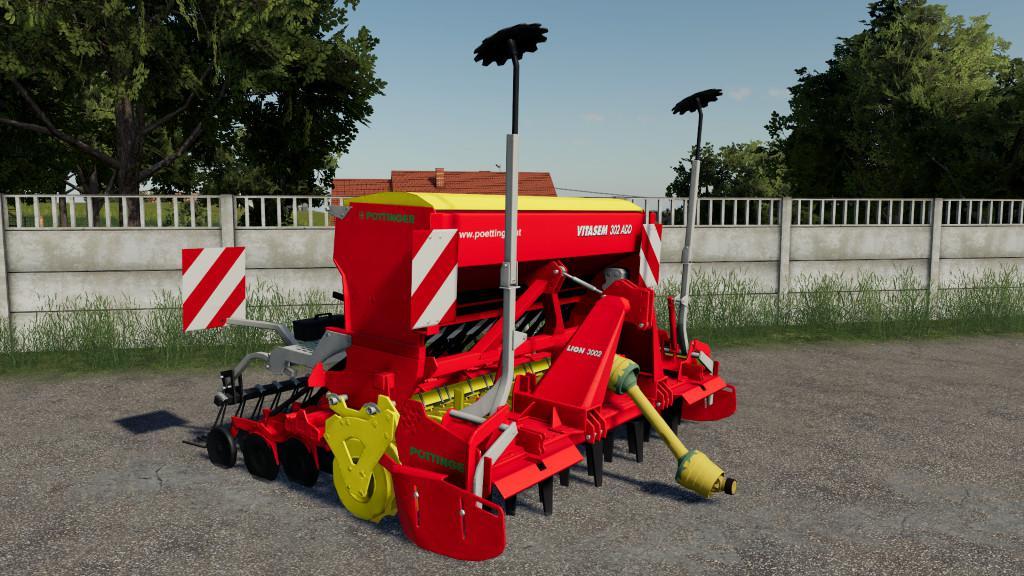 FS 19 Poettinger Vitasem 302A v2 0 0 0 - Farming Simulator