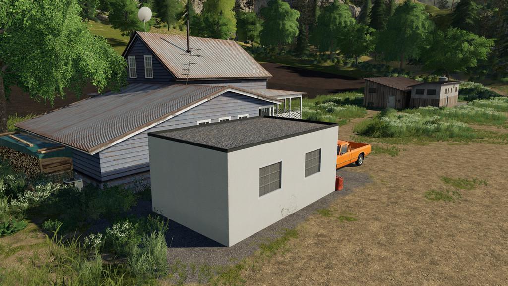 LS 19 Garage With Workshoptrigger v1 1 0 0 - Farming