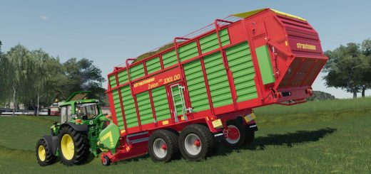 LS19 US Trailer with Autoload Feature - Farming Simulator 19
