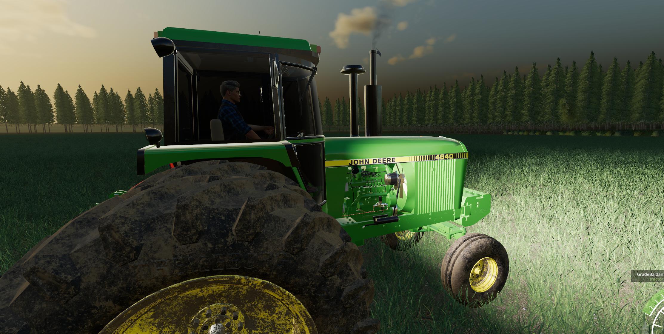 LS19 John Deere 4640 v1 0 0 1 - Farming Simulator 19 mod