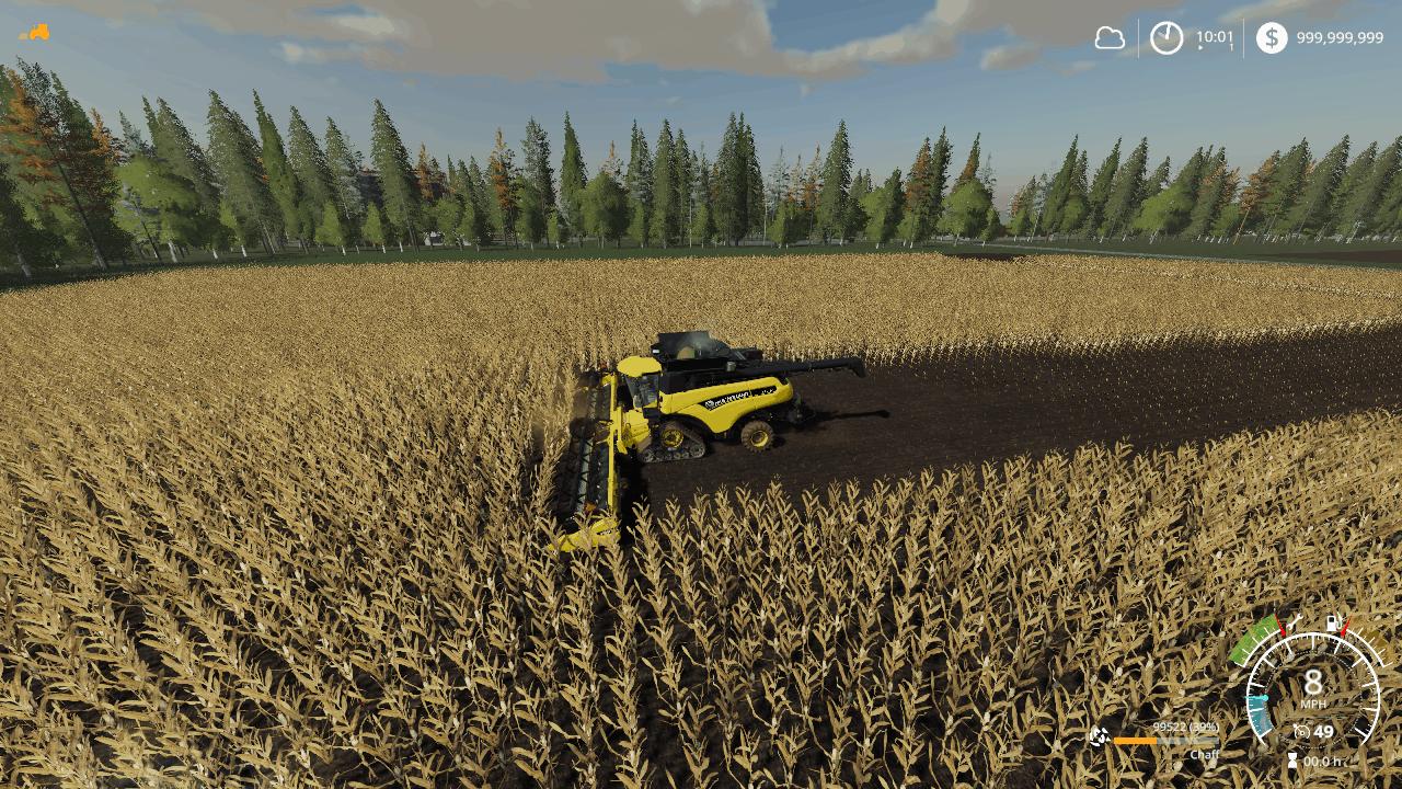 FS 19 New holland Chaff Pack - Farming Simulator 19 mod, LS19 Mod