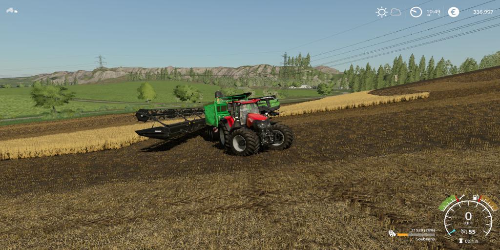 FS 19 CaseIH Optum Power 650HP v1 0 - Farming Simulator 19 mod, LS19