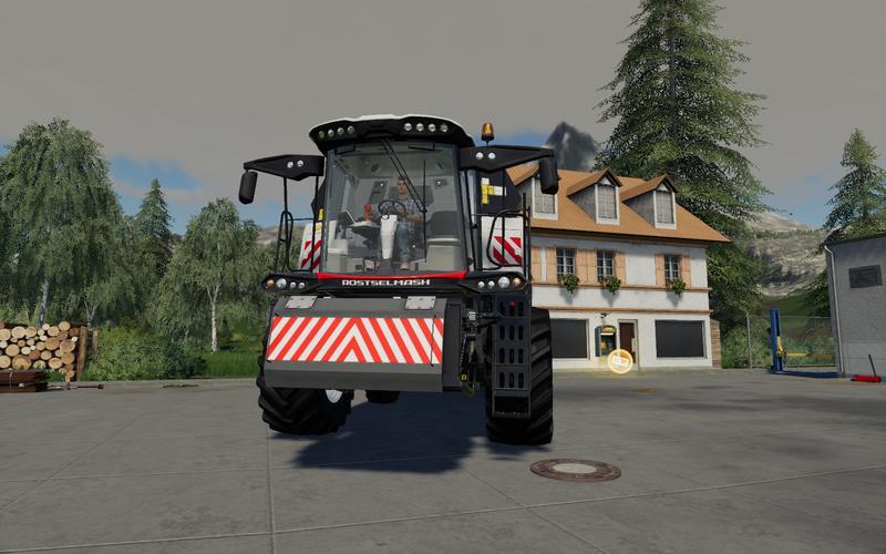 FS 19 Frontshield for Combines v1 0 0 0 - Farming Simulator 19 mod