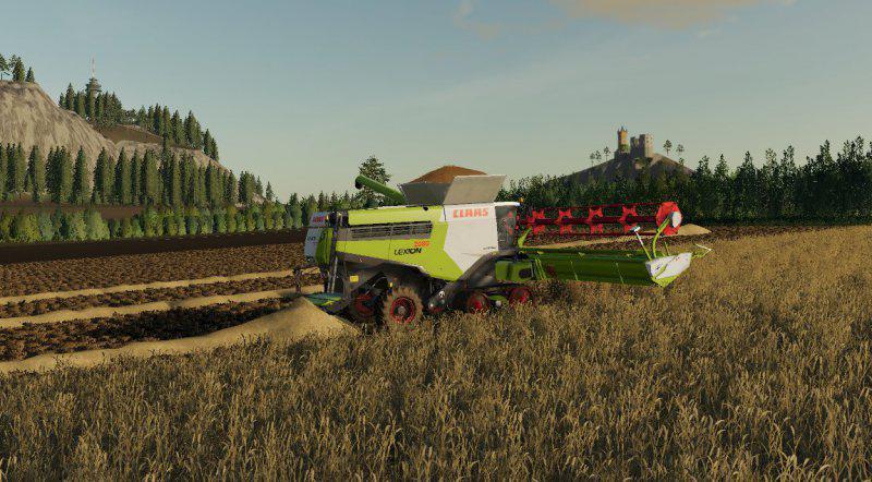 LS2019 Claas Lexion 2080 Prototype v1 0 0 0 - Farming