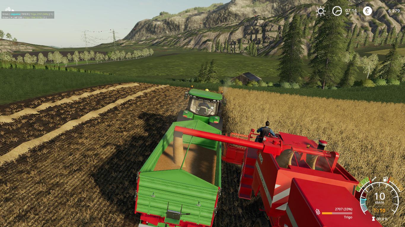 Mod Massey Ferguson 620 v1 0 - Farming Simulator 19 mod