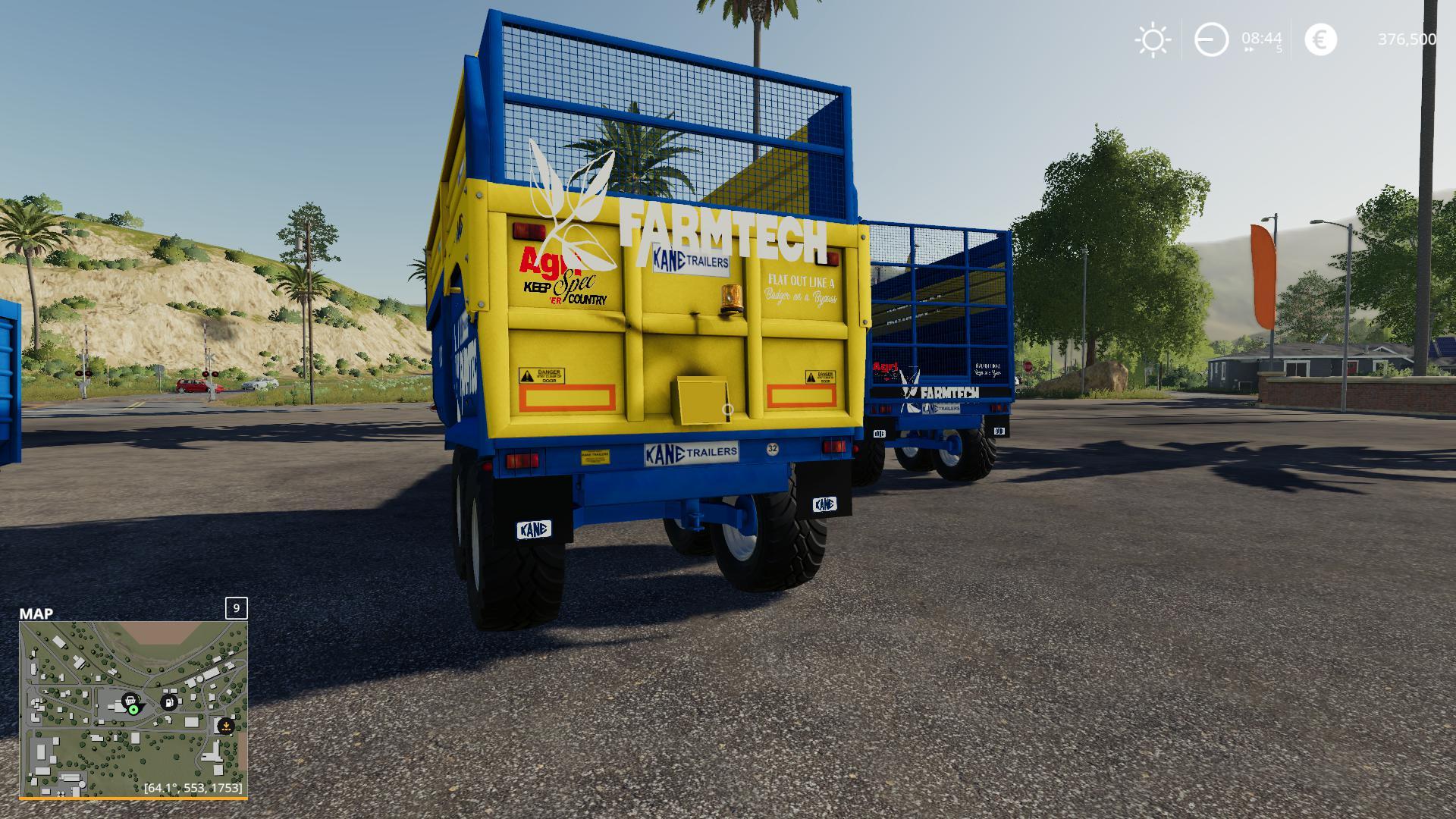 FS 19 Kane Trailers Pack v1 0 - Farming Simulator 19 mod