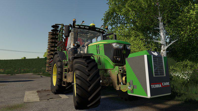 Ls19 John Deere 6r V2 0 0 0 Farming Simulator 19 Mod