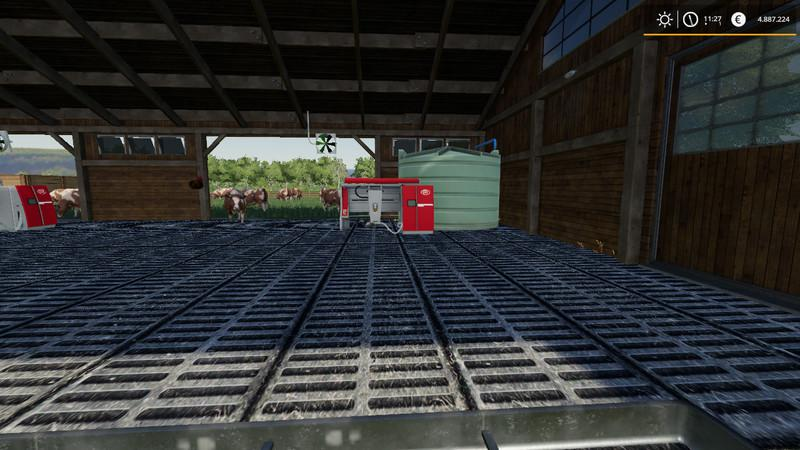 Ls19 Kuhstall 2000 With Animal Pen Extension V1 3 0 0