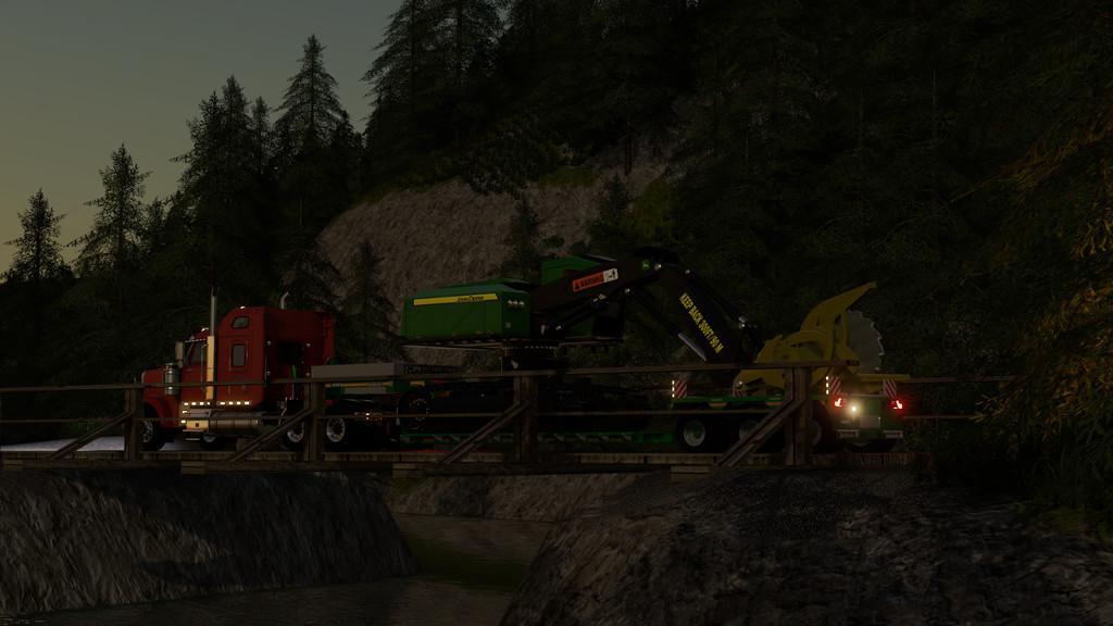 LS2019 John Deere 959M Feller Buncher v1 0 0 0 - Farming
