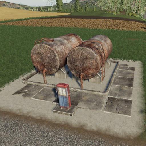 Object Pack Silos and Bullet Sale Sosnovka v1 0 - Farming