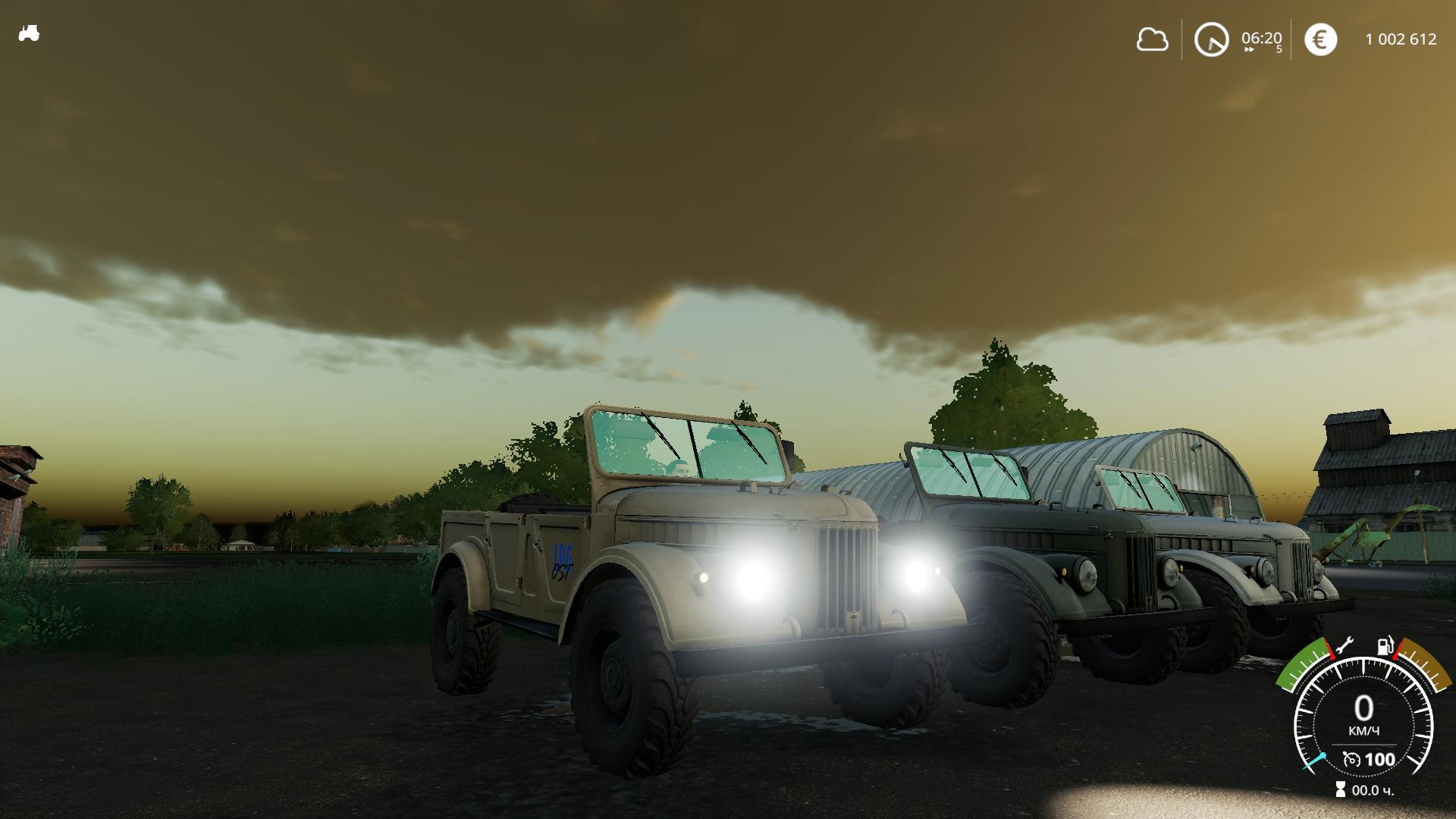 Car Gaz 69 V1 0 0 0 Farming Simulator 19 Mod Ls19 Mod