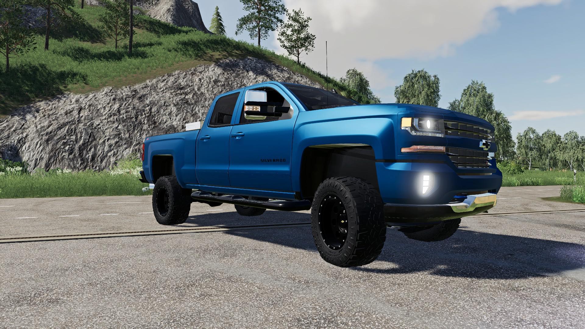 Types Of Rims >> LS19 Chevrolet Silverado 1500 v1.0 - Farming Simulator 19 mod, LS19 Mod download!