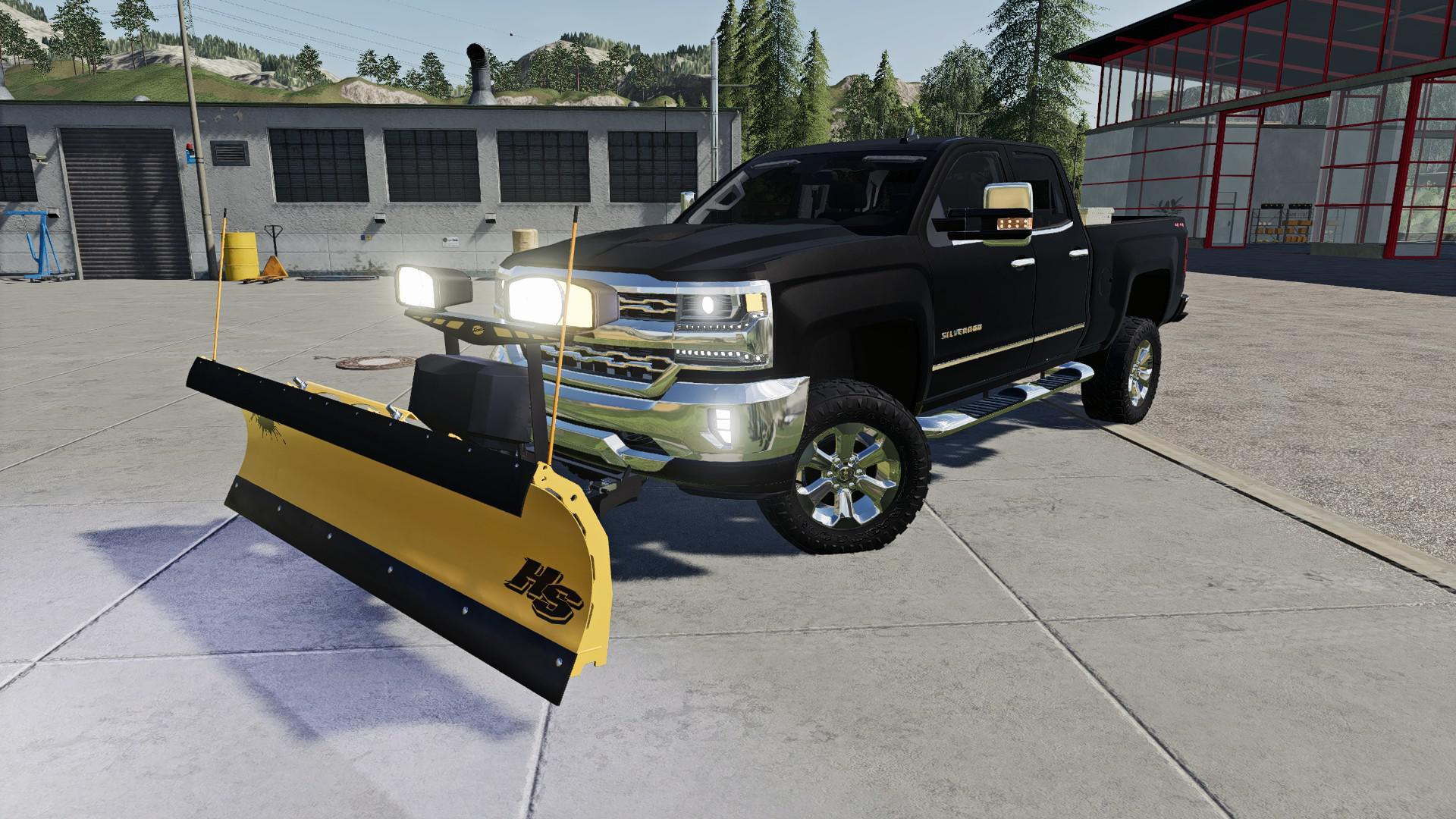 LS19 Chevrolet Silverado 1500 v1.0 - Farming Simulator 19 ...