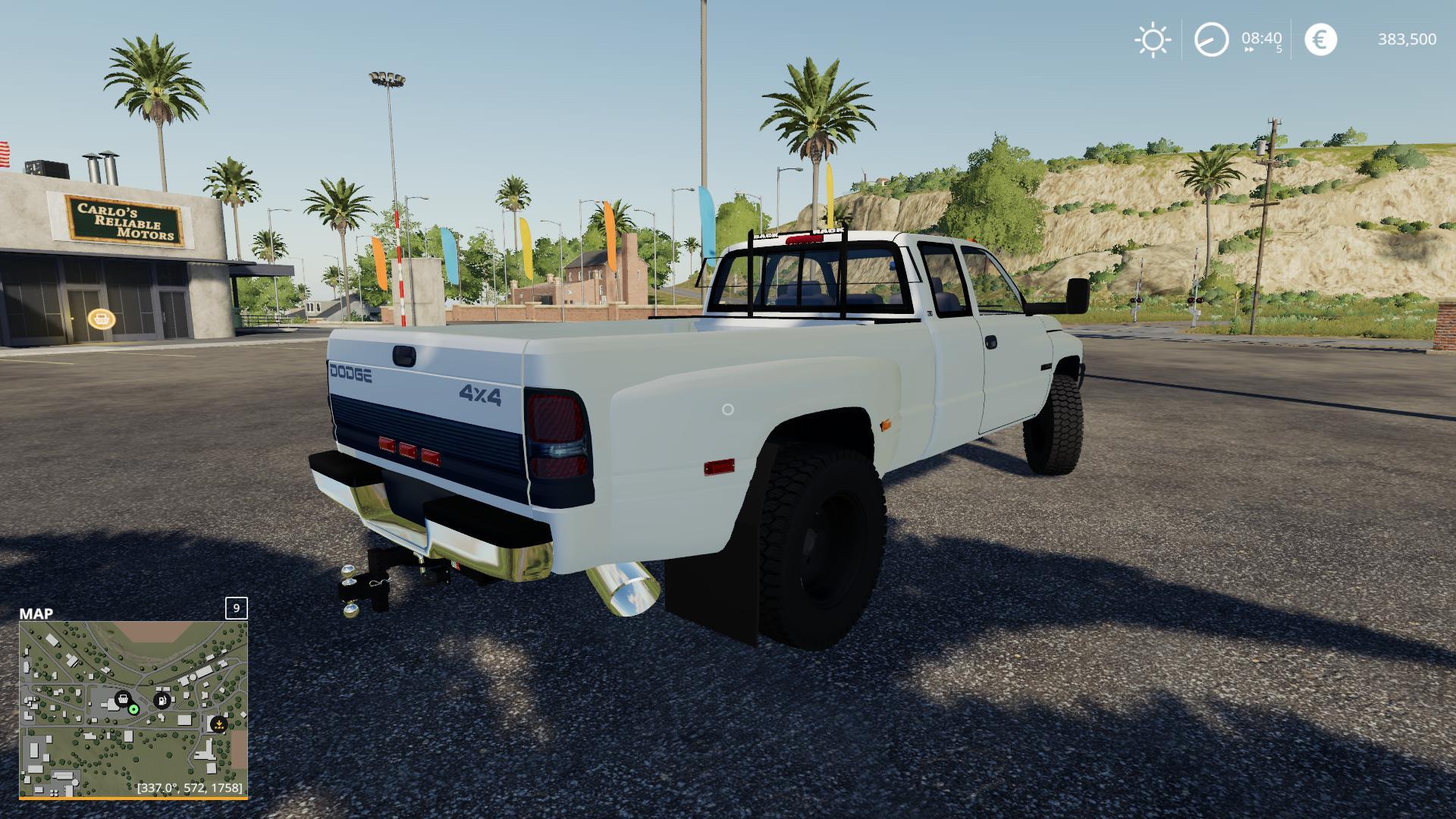 Ls19 2nd Gen Dodge Ram 3500 V2 0 Farming Simulator 19 Mod Ls19 Mod Download